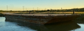 ABS Deck Barge JMC 187 Available for Charter out of Cedar Bayou, Texas