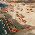Deer Island Pier, Bulkhead and Staging Area
