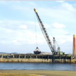Dredging Quincy Bay