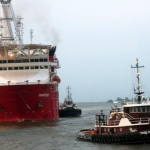 Cashman Tugs and Barges at Work in Mexico